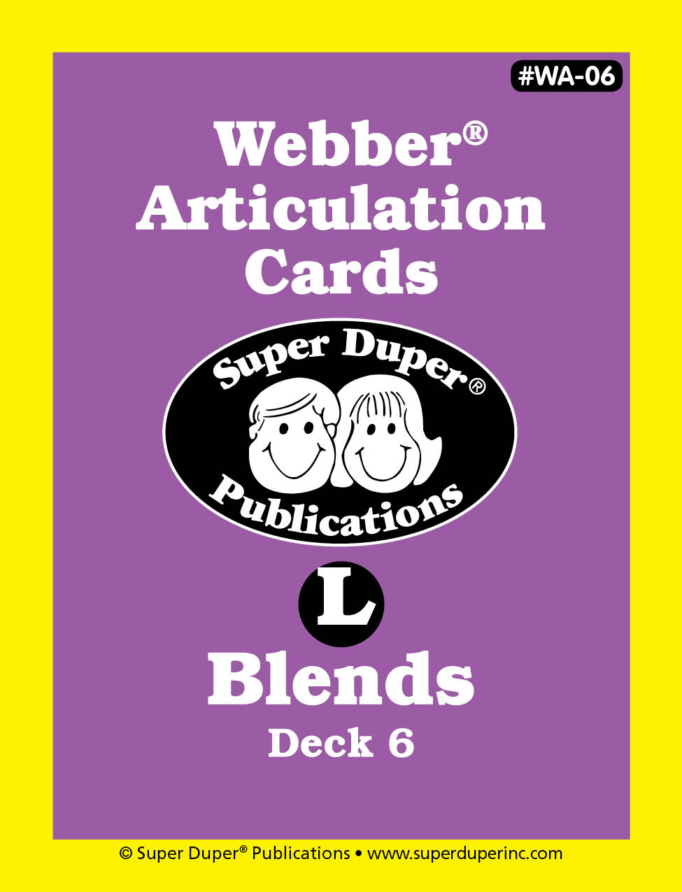 Webber Articulation Cards - L Blends