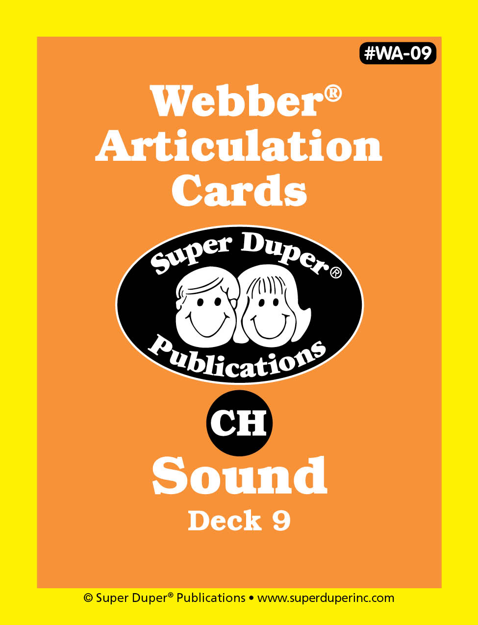 Webber Articulation Cards - CH