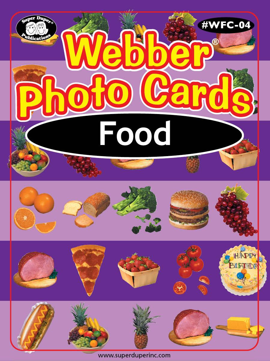 Webber Photo Cards - Food