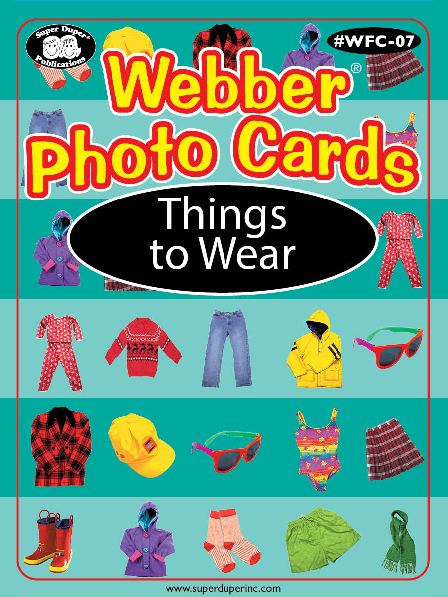 Webber Photo Cards - Things To Wear