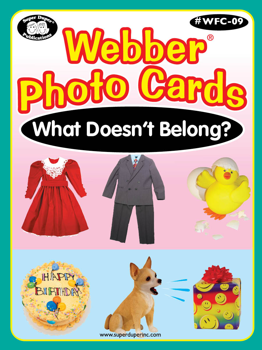 Webber Photo Cards - What Doesn't Belong?