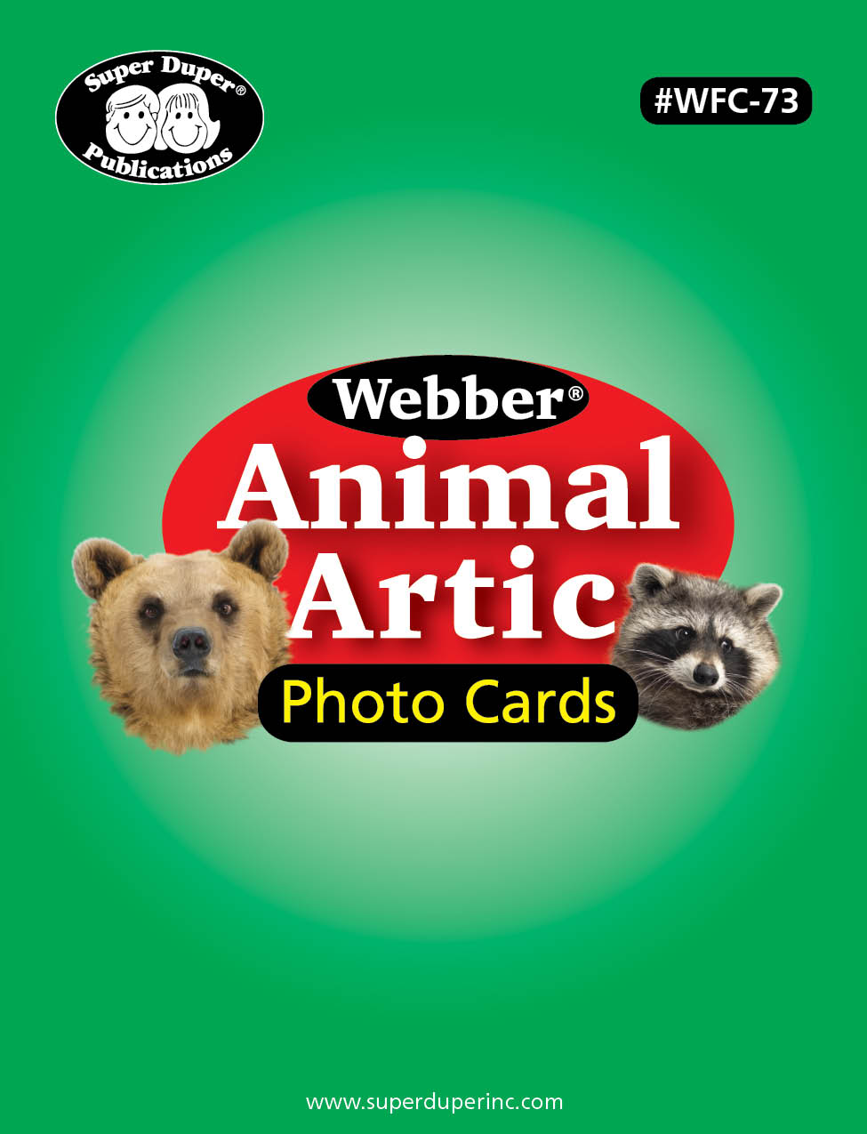 Webber Animal Artic Photo Cards