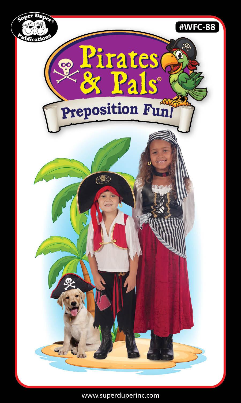 Pirates & Pals® Preposition Fun Card Deck