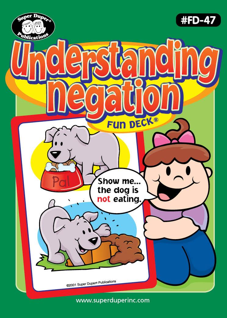 Understanding Negation Fun Deck
