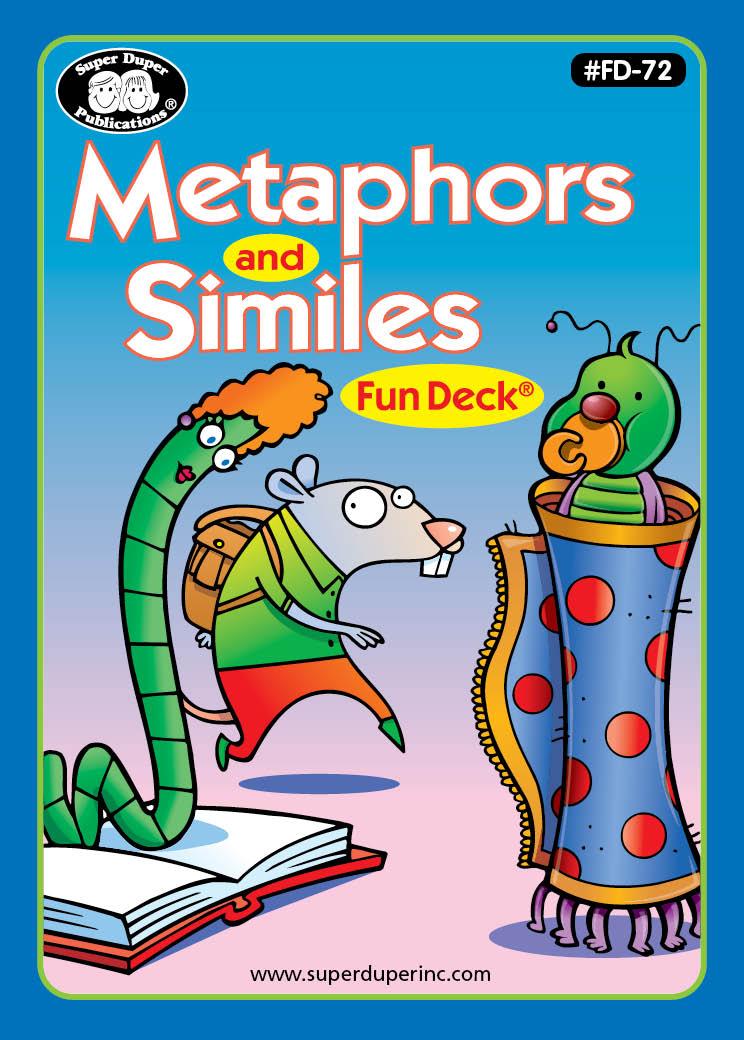 Metaphors & Similes Fun Deck
