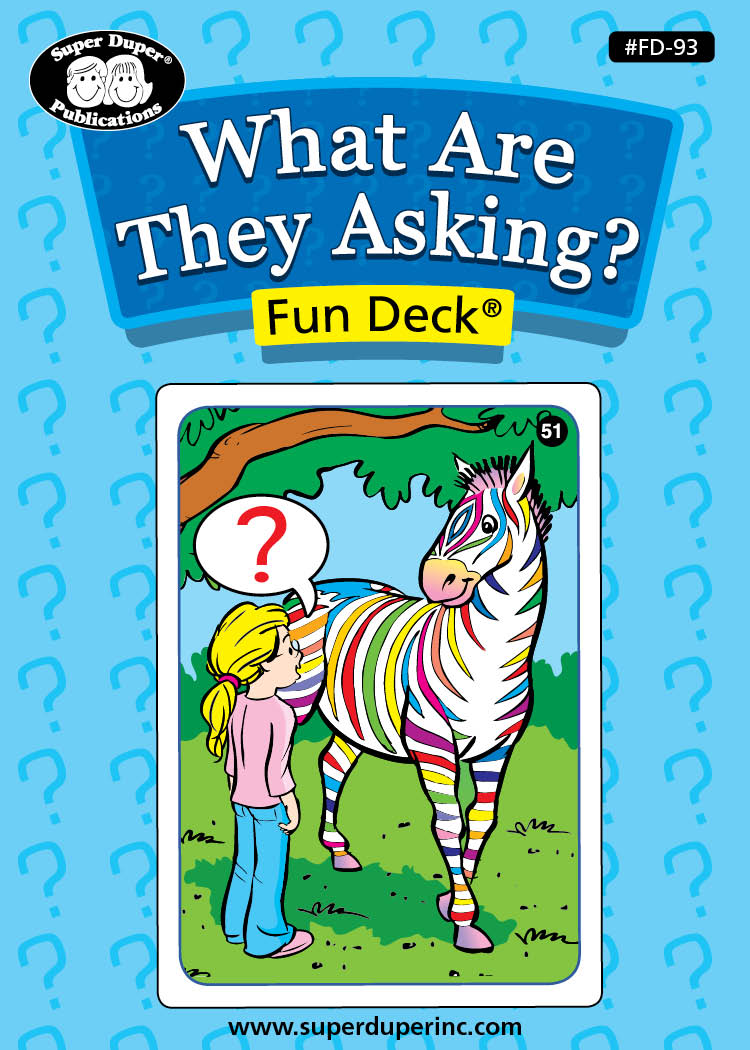 What are They Asking? Fun Deck